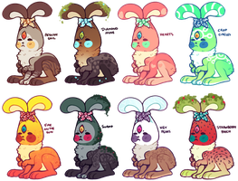 Buddabuns batch 2 (OPEN 4 left) by Ponacho