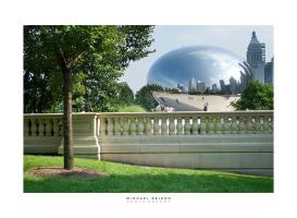 Cloud Gate Perspective by yenom