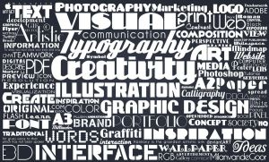 Typographic by miel-g