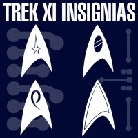 Trek XI Starfleet Insignias by Retoucher07030