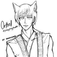 BUST - Orthell Sketch by BunnyVoid