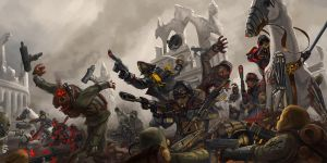 WH40K: Fearless by StuartHughe