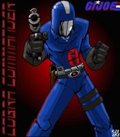Cobra Commander by lordsmiley