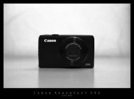Canon PowerShot S90 by Mr808