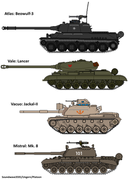MM! AU: 2nd great War Tanks by Soundwave3591