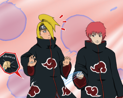 Sasori you naughty boy by Gabizolas