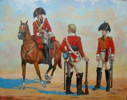 Soldiers of the 3rd Regiment of Dragoon Guards by matej16
