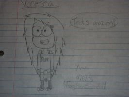 Vanessa! *Improved Gravity Falls Style!!* by GH0STBUNNY