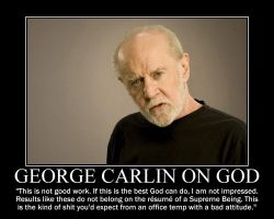 George Carlin on God by fiskefyren