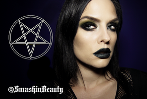 American Horror Story Coven Witch Makeup by smashinbeauty