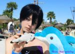 Haru Cutie playing with Dolls - Free! by ArisuChanCosplay