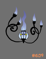 Chandelure by Xgirl1251