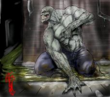 Batman Rogues Glry-Killer Croc by thedarkcloak