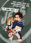 NFL 2012 WEEK 12: PATRIOTS VS. JETS! by Rerwin