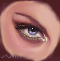 blue eye by Velvetta