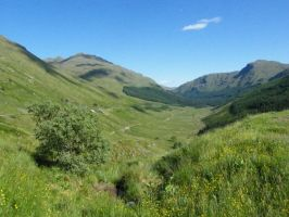 Hills, Lochs and Glens 9 by Anararion