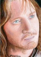 Faramir sketch card commission by jenchuan