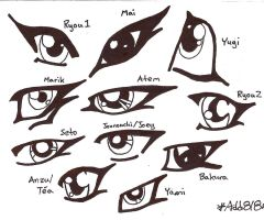 The Eyes Of Yu-Gi-Oh by addrianna818