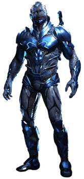 Blue Beetle (Full Body) - Transparent Background! by Camo-Flauge