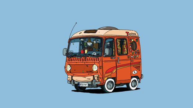 Campervan by bjarnetv
