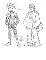 Spidey and comic geek by JoeyVazquez
