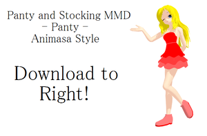 [MMD] Panty (PASWG) [DL] by thesugoimaster