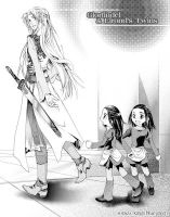 Glorfindel and Elrond's twins by bye1234