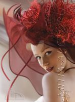 BRIDE in RED by Mitia-Arcturus