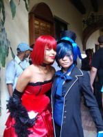 Ciel and Madame red by miles58