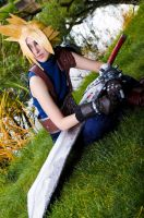 Cloud, Final Fantasy VII by EminenceRain