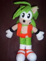 MANIC THE HEDGEHOG PLUSHIE 3 by Victim-RED