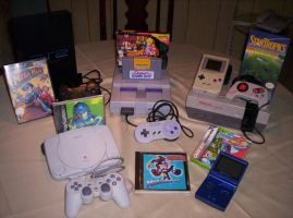 Game Systems Collection by Viper-X27