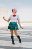 Robot schoolgirl by Giuly-Chan