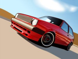 mk2 golf vexel by koosh-m