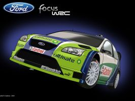 Ford Focus WRC 06' by zeba5