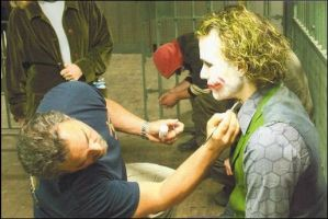 The Dark Knight Joker-Behind the Scenes by AlexAngelPrince