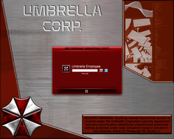 Umbrella Corp BOW Log-in by x667x9