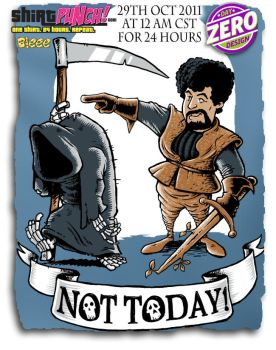 Not Today by jimspon