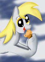 Derpy Hooves by almaustral