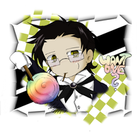 Chibi Claude  -  Candy by lotras