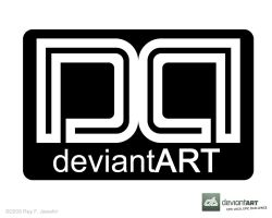 Deviant Art Logo 6 ReyJ. by reyjdesigns