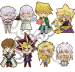 Yugioh charms 1 by Julesie