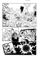 Meltdown -super hero 1 pager by GibsonQuarter27