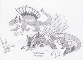 Spine Fossil Fakemon by Tomatem13