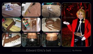 Edward Elric's belt::::::: by Witchiko
