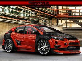 Team Turkey 2 Ford Focus 2011 by edcgraphic