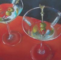 Two Olive Martinis by JoeyBee60