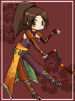 Ling Tong Chibi by Swan-ee