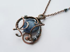 Pendant 'cold Heart' by UrsulaJewelry