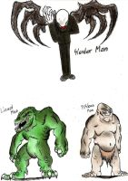 Chibis and MiniMonsters - Cryptozoology 7 by MonsterKingOfKarmen